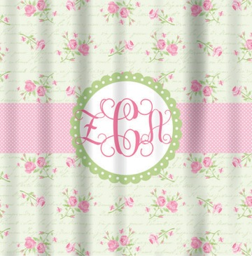 Shower Curtains-English Tea Rose