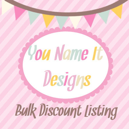 Custom Bulk Listing-Placemats 4-6 price discount