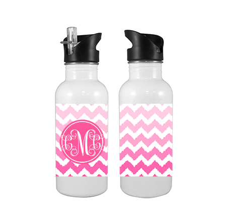 Water Bottles-Ombre Chevron