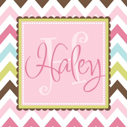 Gift Enclosure Cards-Spring Chevron Large
