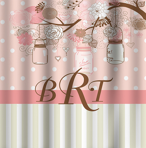 Shower Curtains-Vintage Jars